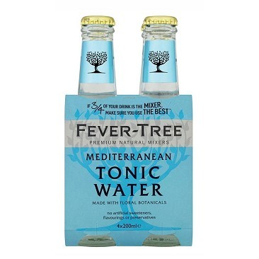 4 Pack Mediterranean Tonic Water